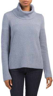 Made In Italy Cowl Neck Sweater