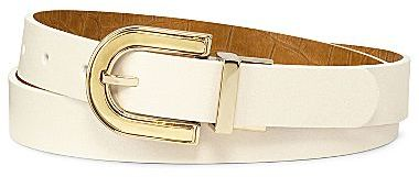 JCPenney Smooth or Croc Reversible Belt