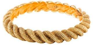 Chanel Twisted Rope Bangle