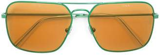 Gosha Rubchinskiy Retrospective Future sunglasses