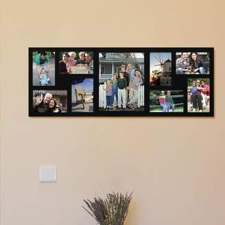 Latitude Run 9 Opening Wood Wall Hanging Picture Frame