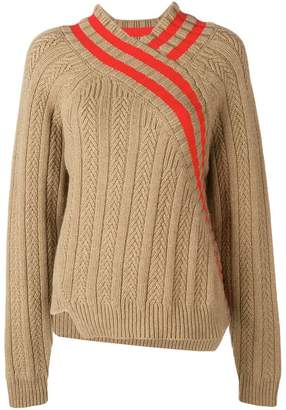 Jil Sander asymmetric style jumper