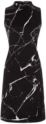 Akris Marble PrintShift Dress