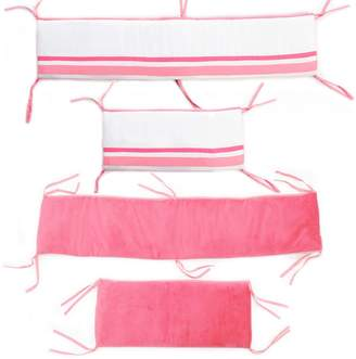 One Grace Place 10-18hp012 Simplicity Hot Pink-Crib Bumper/Rail Cover