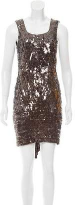 Gryphon Sleeveless Embellished Dress