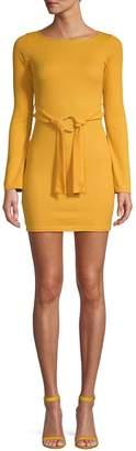 Missguided Long Sleeve Mini Dress