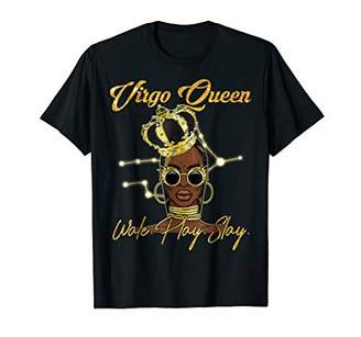 Virgo Queen Wake Pray Slay Tshirt for queen woman girl