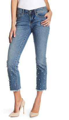 Nicole Miller New York Mulberry High Waisted Skinny Jeans