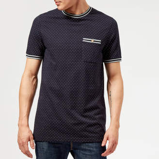 0494ca0e0d7248 Ted Baker Men s Glaad Pique Mini Spot T-Shirt