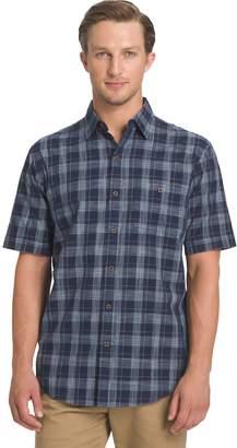 Arrow Big & Tall Plaid Button-Down Shirt