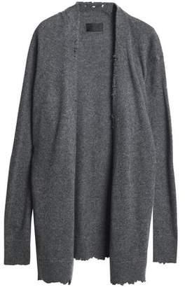 RtA Distressed Cashmere Cardigan