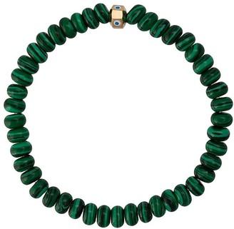 Luis Morais enameled evil eye bracelet