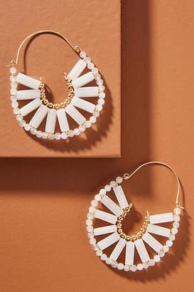 Anthropologie Callista Hoop Earrings