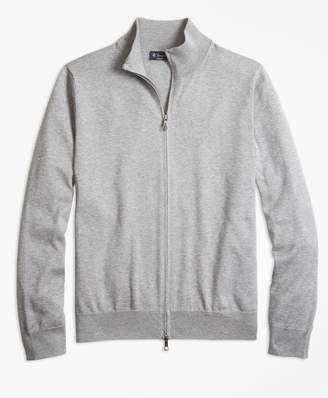 Brooks Brothers Supima Cotton Full-Zip Cardigan