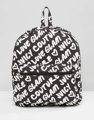 Juicy Couture Graffiti Backpack