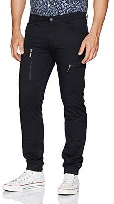 Akademiks Men's Pigment Dyed Cargo Pant
