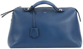Fendi By The Way Blue Leather Handbag