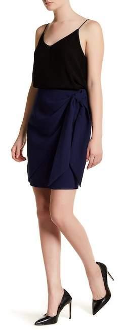 ABS By Allen SchwartzABS by Allen Schwartz Front Tie Draped Skirt