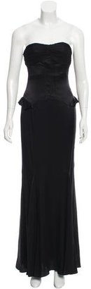 Vera Wang Strapless Evening Gown $325 thestylecure.com