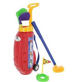 Hey! Play! Toy Golf Play Set with Plastic Bag