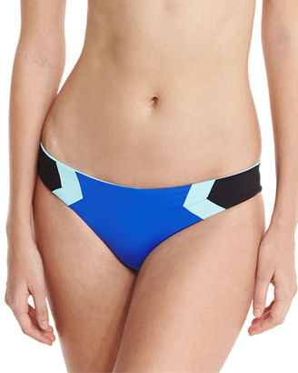 L Space Swimwear by Monica Wise Barracuda Reversible Colorblock Swim Bottom $79 thestylecure.com