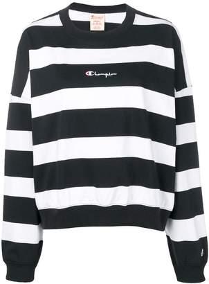 Champion striped sweatshirt
