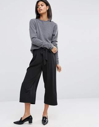 ASOS Tailored Culotte with Tie Waist $40 thestylecure.com