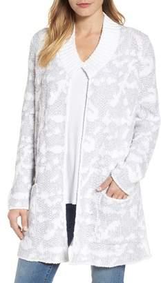Eileen Fisher Organic Cotton Pocket Cardigan