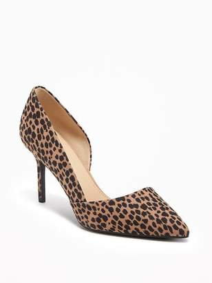 Sueded D'Orsay Pumps for Women $39.94 thestylecure.com
