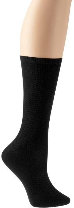 Textured trouser socks