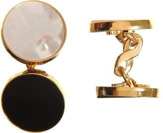 Barneys New York Men's Onyx & Mother-Of-Pearl Formal Set