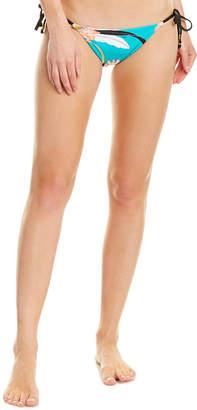 Trina Turk Shangri La Floral String Bikini Bottom