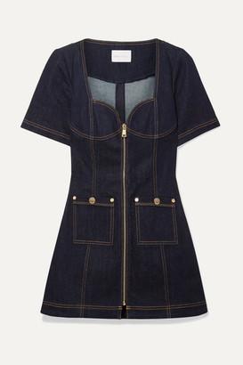 837e43fb775 Alice McCall Bloomsbury Denim Mini Dress - Dark denim