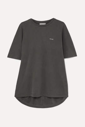 Balenciaga Cocoon Oversized Printed Cotton-jersey T-shirt
