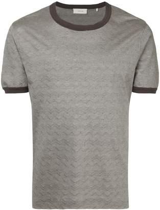 Cerruti wavy print T-shirt