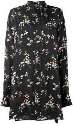Haider Ackermann floral long-sleeve shirt