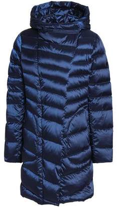 Diane von Furstenberg Quilted Shell Hooded Coat
