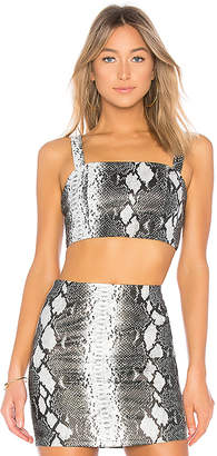 by the way. Cassandra Snake Bandeau Top