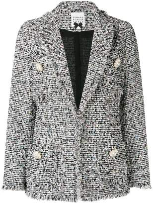 Edward Achour Paris bouclé tweed blazer