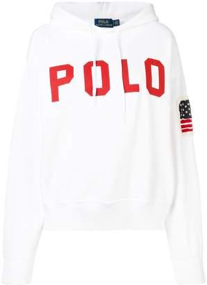 Polo Ralph Lauren printed logo hoodie