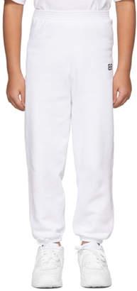 Balenciaga Boy White BB Lounge Pants
