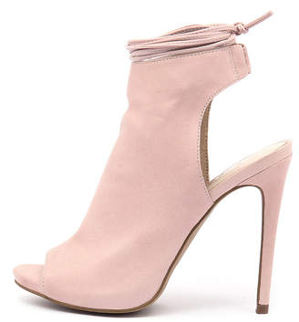Siren Danika-si Blush Shoes Womens Shoes Dress Heeled Shoes