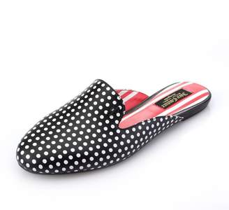 Juicy Couture Alexa Polka Dot Leather Mule