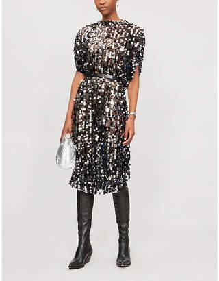 MM6 MAISON MARGIELA Belted sequinned dress