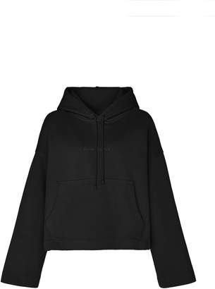 Acne Studios Joghy Logo-Embossed Cotton-Jersey Hooded Sweatshirt Size: