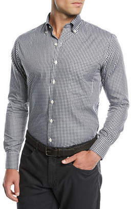 Peter Millar Men's Crown Soft Gingham Dress Shirt