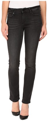 Calvin Klein Jeans Straight in Broke Black Denim $69.50 thestylecure.com