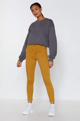 Nasty Gal Close to You Skinny Jeans