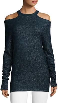 Elie Tahari Brodly Cold-Shoulder Sweater
