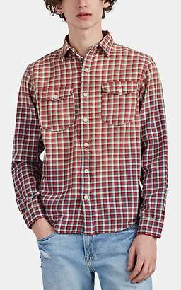 Ralph Lauren RRL Men's Plaid Cotton Workshirt